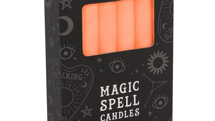 Magic Spell Candles - Orange