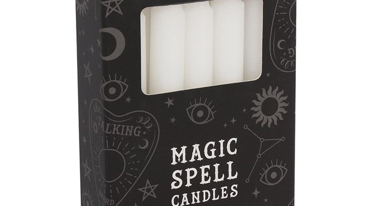Magic Spell Candles - White