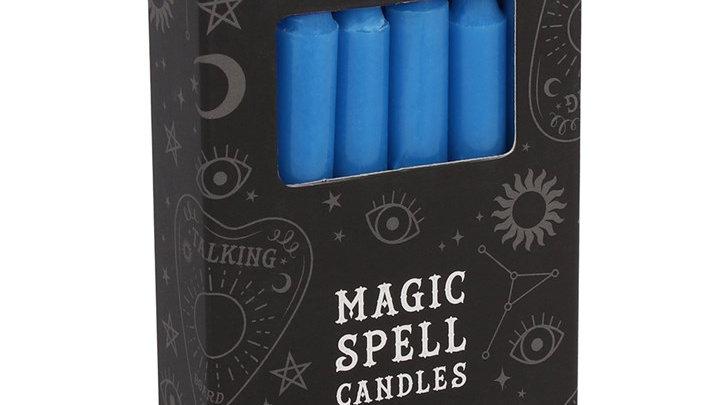 Magic Spell Candles - Dark Blue