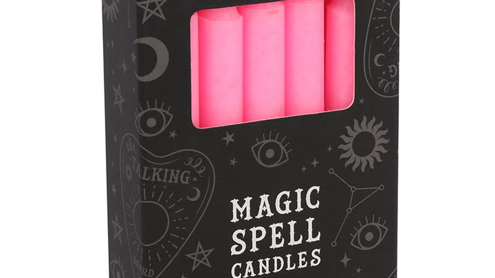 Magic Spell Candles - Pink