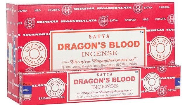 Satya - Dragon's Blood Incense Sticks