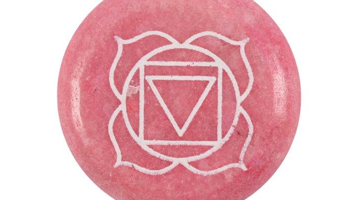 Root Chakra Meditation Stone + Bag