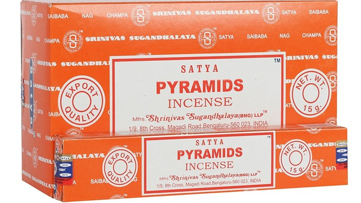 Satya - Pyramids Incense Sticks