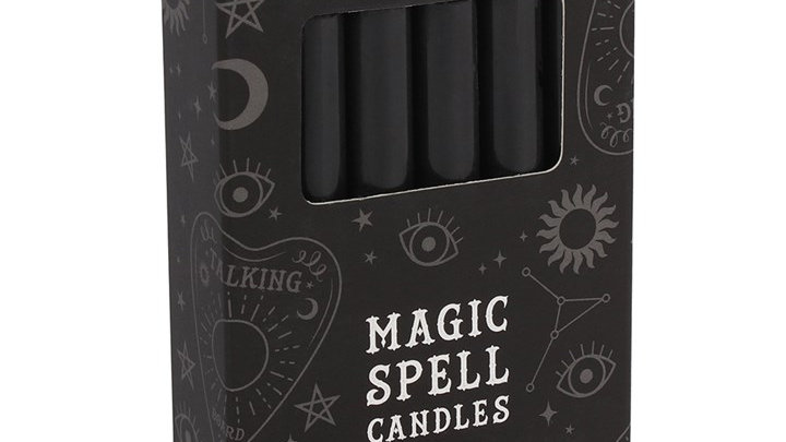 Magic Spell Candles - Black