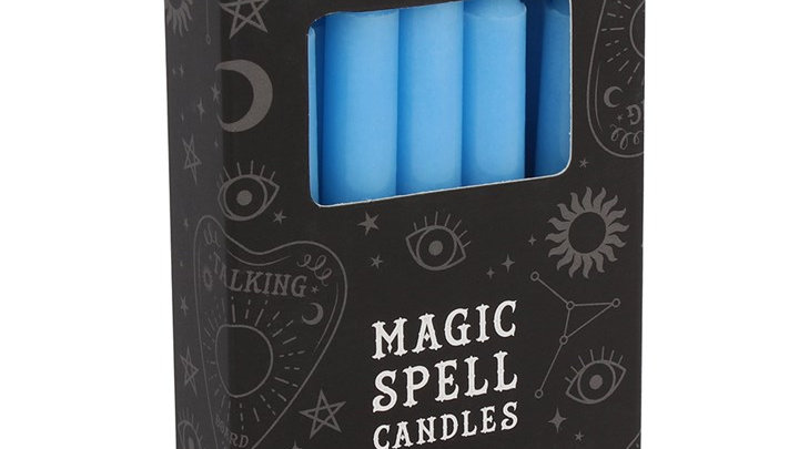 Magic Spell Candles - Light Blue