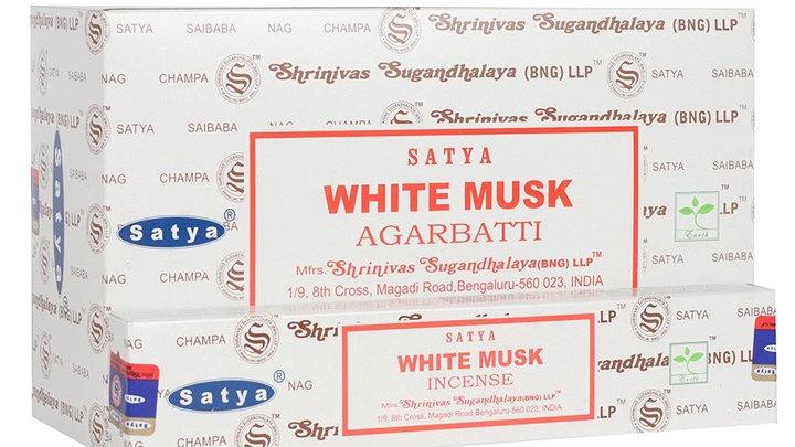 Satya - White Musk Incense Sticks