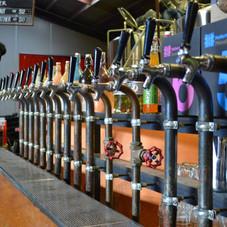 Hallertau Brewery beer taps.jpg