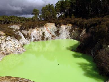 Devils Bath at Waiotapu