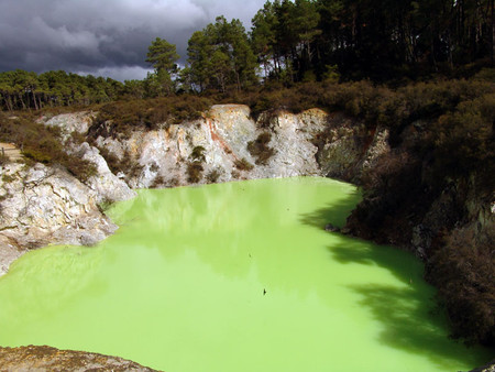 Devils Bath at Waiotapu
