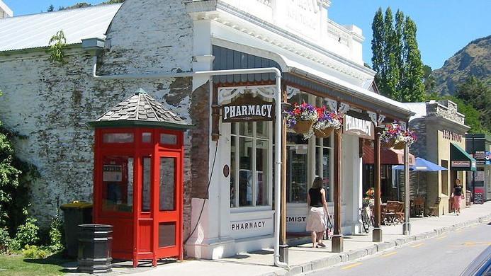 Coromandel, NZ shop