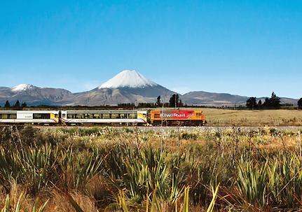 Northern Explorer Train, NZ