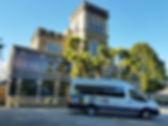 Transit outside Larnach Castle 2018.jpg