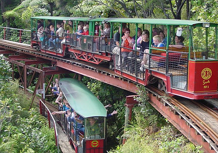 Coromandel Driving Creek Railway, New Zealand