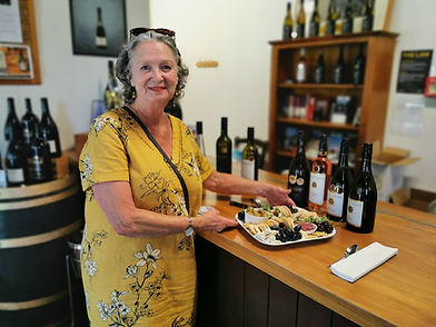 Kathrin Chappell with Cheese Platter.jpg