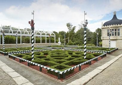 Hamilton gardens on our day trip to Hamilton