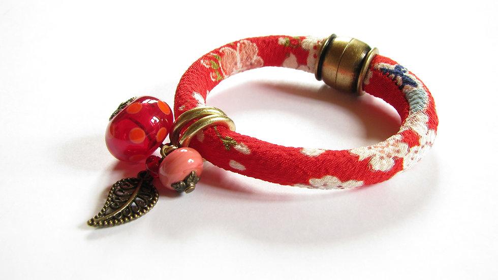 Bracelet Japon rouge