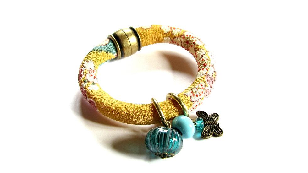 Bracelet Japon jaune