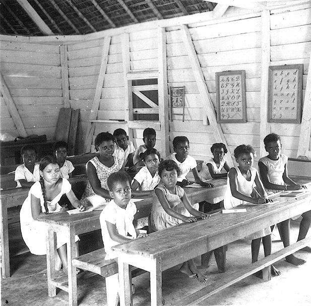 Chagossian School Children, 1950s