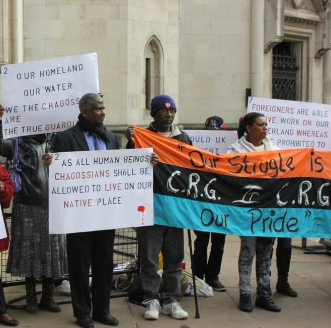 Chagos Refugees Group (CRG) Protest