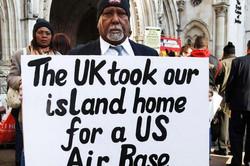 Chagossians Protesting in London
