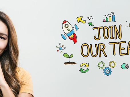 We're hiring! Marketing Executive