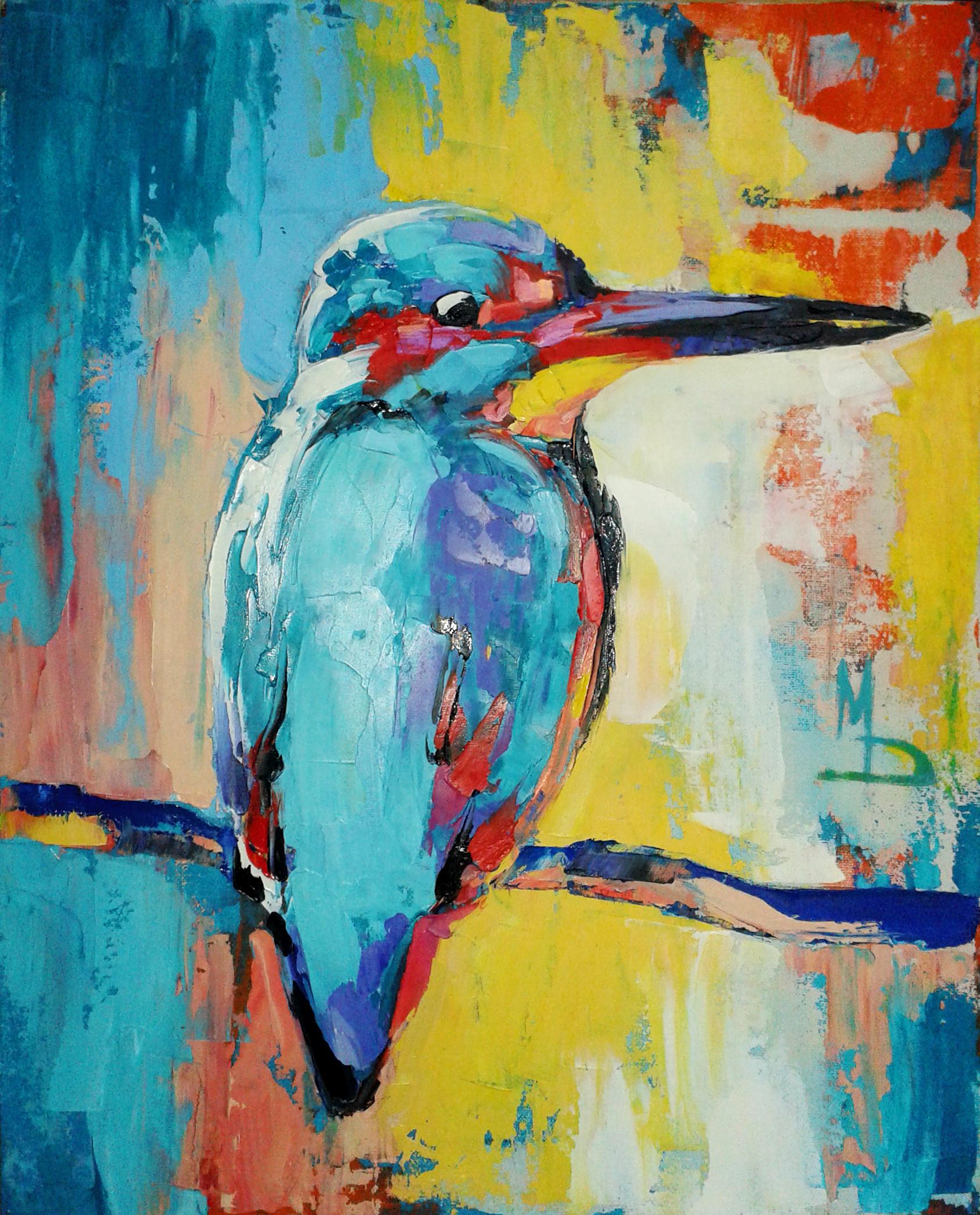 Зимородок / kingfisher