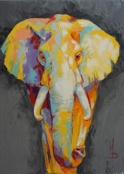 слон серый / gray elephant