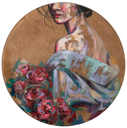 Незнакомка с цветами / stranger with flowers