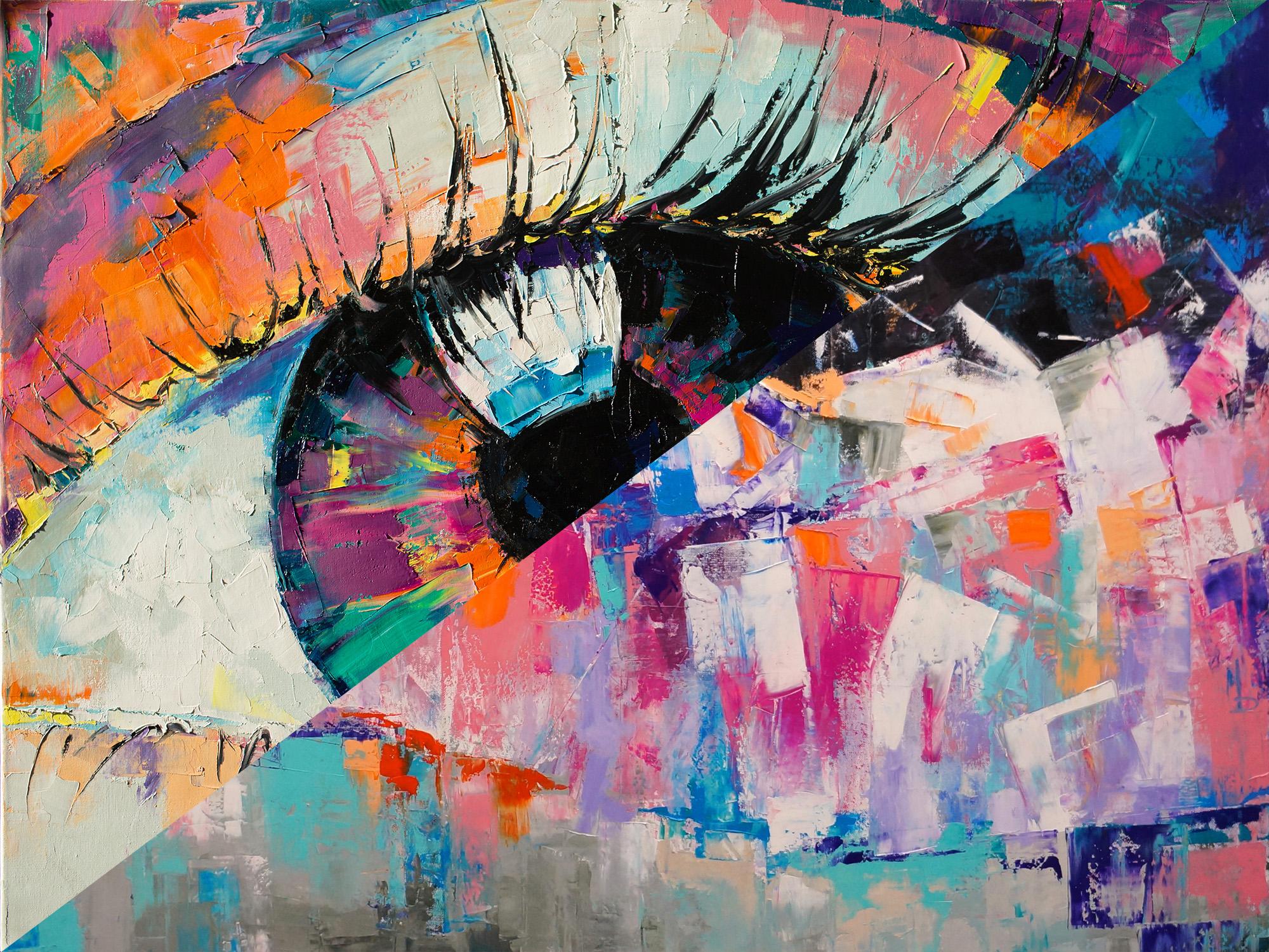 Око-флюорит / The eye-fluorite