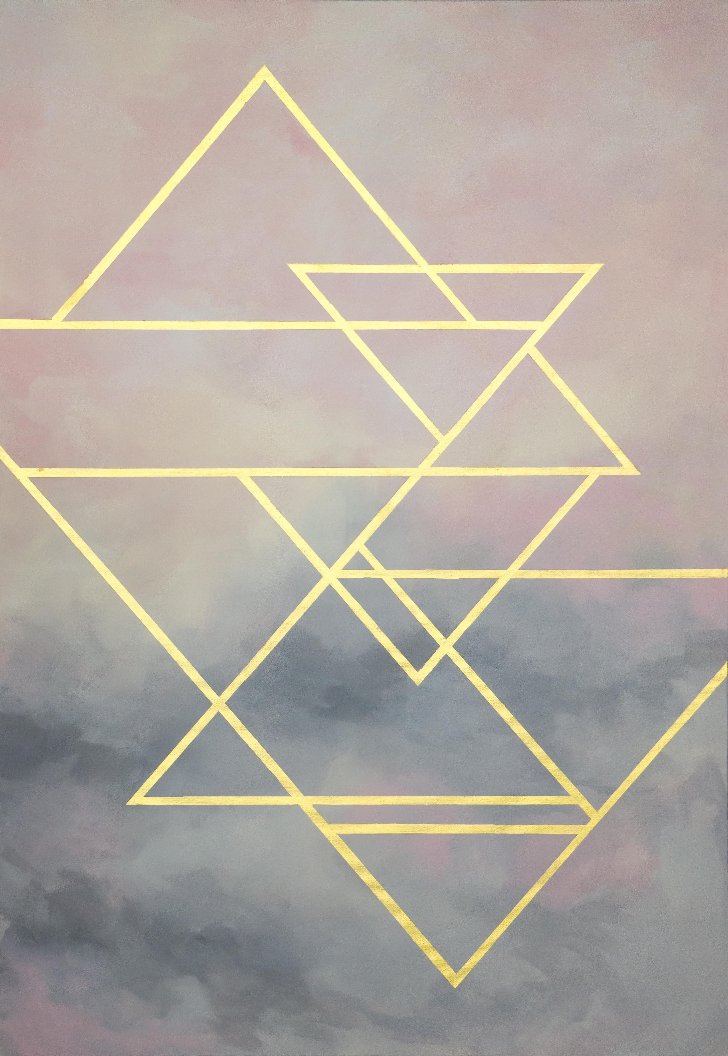 Абстракция розовая/ abstract pink