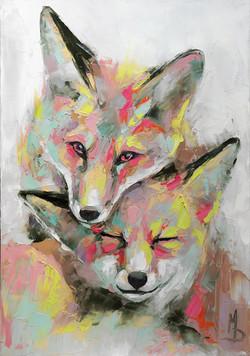 Лисята / Foxes