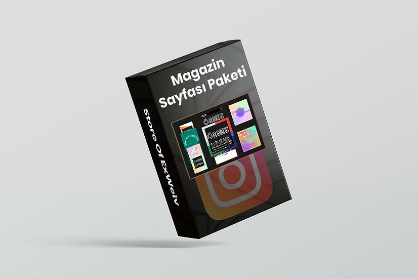 Instagram Magazin Sayfası Paketi
