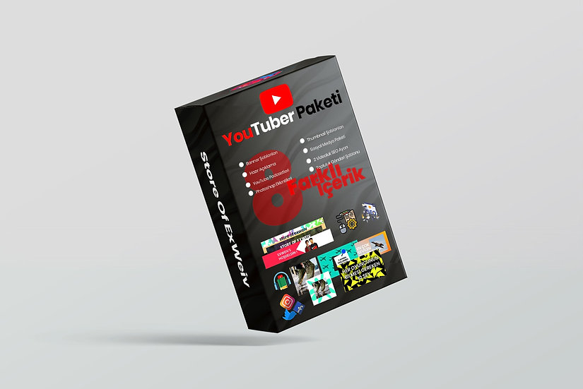 YouTuber Paketi