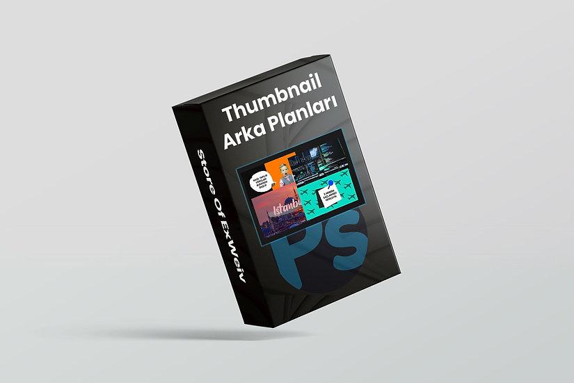 Thumbnail Arka Planları & Şablonları