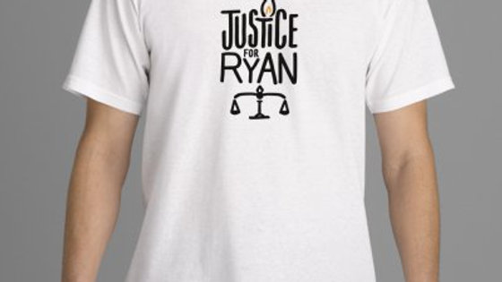 'Justice For Ryan' Official T-Shirt