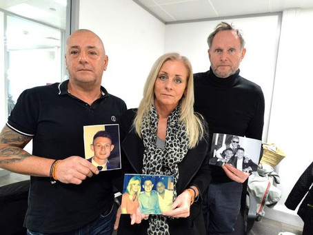 Ryan Passey's family: 'there needs to be more protection & rights for victims and their families'