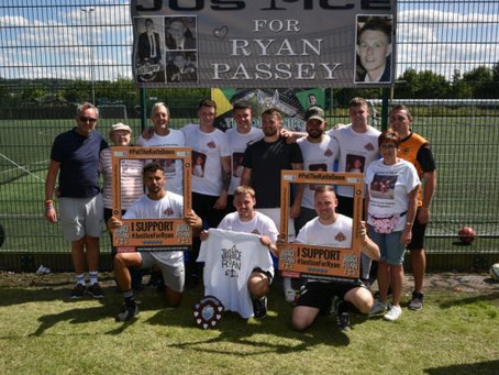 Olly Wilkes Memorial Tournament raises over £10,000, including for 'Justice For Ryan' Campaign.