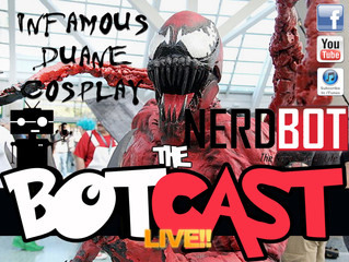 The BotCast Episode 25 - Infamous Duane Cosplay, Harry Potter, Spider-Man