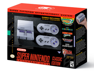 SNES Classic Due September 29th with 21 Hit Games !