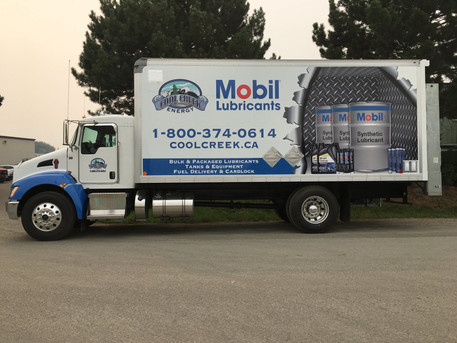 Cool Creek Truck Wrap