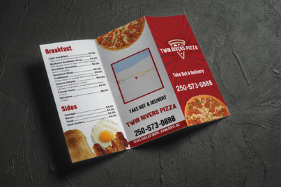 Twin Rivers Pizza - Brochure