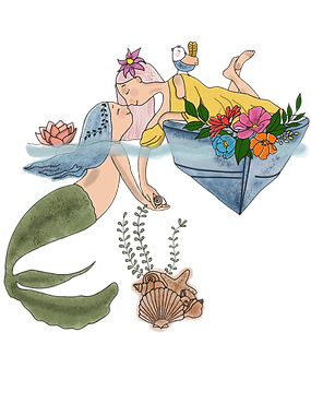 mermaid and a girl.png
