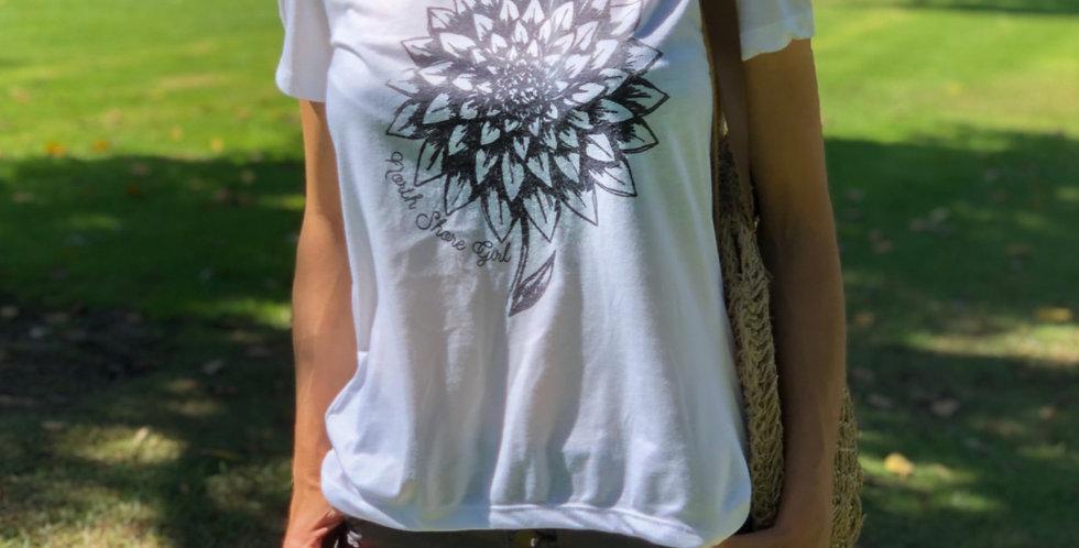 Simple Flower Tee Shirt