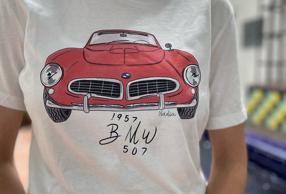 The BMW 507 Roadster
