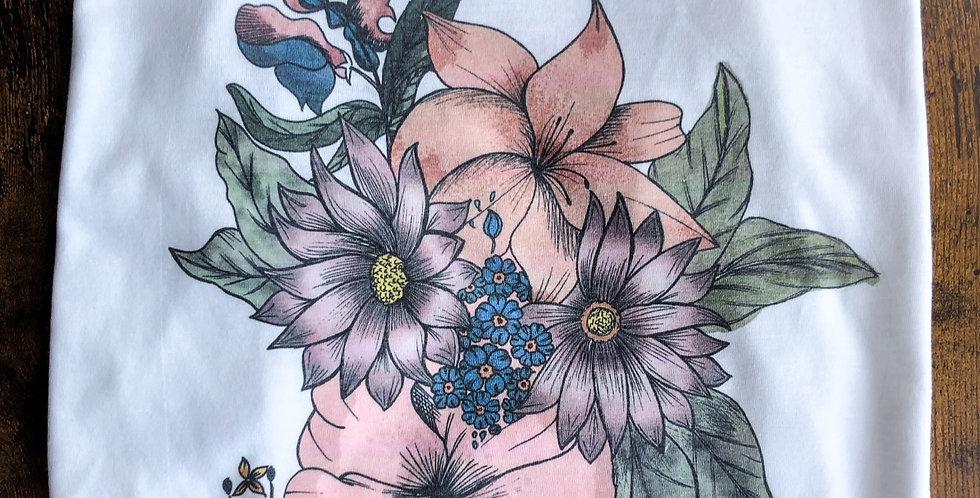 Artist's Original Floral Tank