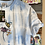 Thumbnail: Bumblebee on Flower Embroidered Tie Dye T-shirt