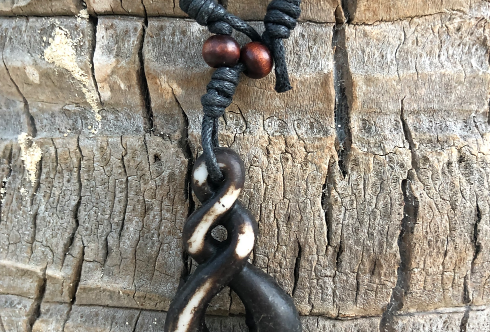 Hook with a Frog Necklace