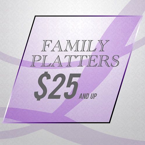 Clean Eating - Family Platters