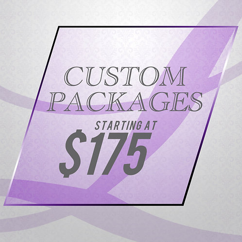 All Meal & Custom Packages - 20 Meals