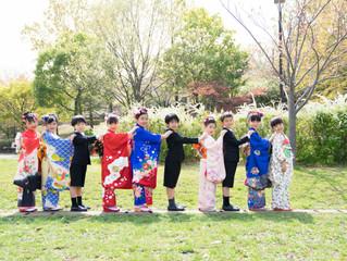 仲良し10人組、グループ撮影をしてきました 横浜市都筑区